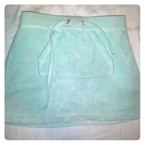 Kids Juicy Couture mint skirt